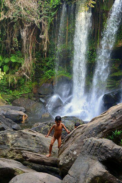 Phnom Kulen national park waterfall Cambodia | Flickr - Photo Sharing!