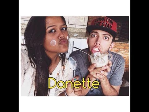 Camila Loures e Lucas Rangel - Danette branco