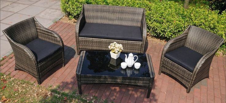 Best 25 Rattan Furniture Set Ideas Only On Pinterest