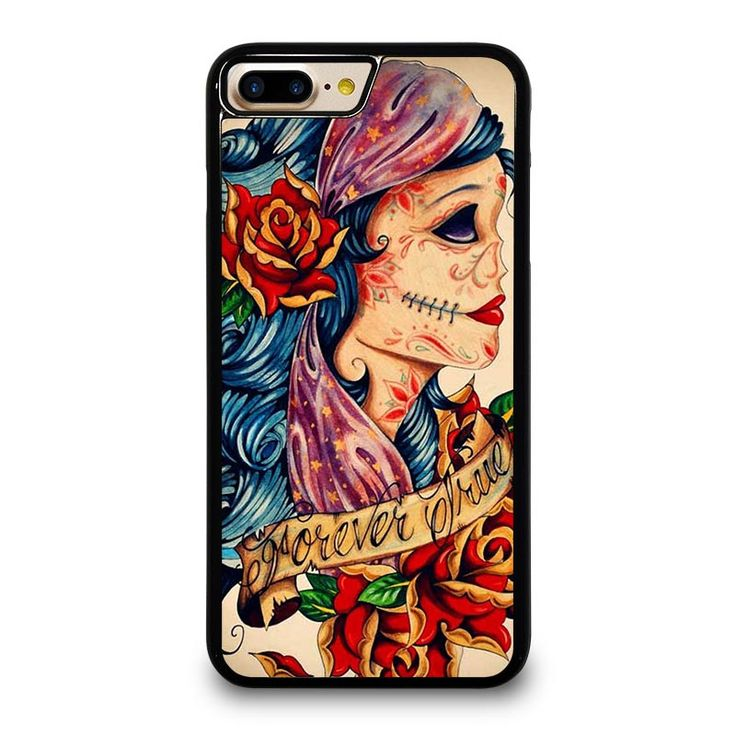 VINTAGE SUGAR SCHOOL TATTOO iPhone 4/4S 5/5S 5C 6/6S 6/6S 7/7S Plus SE