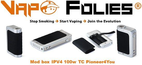 #Mod #box 100 watts avec TC #Pioneer4you #IPV4 – 60.05€