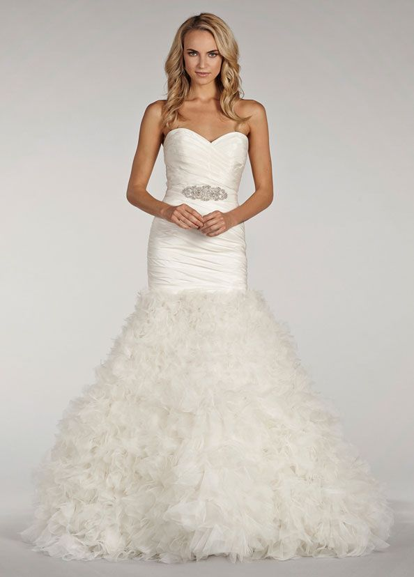 17 best images about lazaro 2014 bridal collection on for Lazaro wedding dress uk