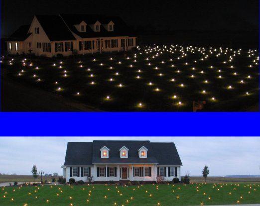 amazoncom lawn lights illuminated outdoor decoration led christmas 36 - Christmas Lawn Lights