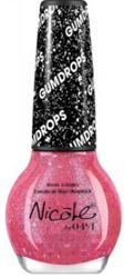 """Introducing NEW Gum Drop Collection: Nicole """"Candy is Dandy"""" Nail Lacquer by OPI *Dries to a sugar-like finish that shimmers with hints of fine glitter*"""