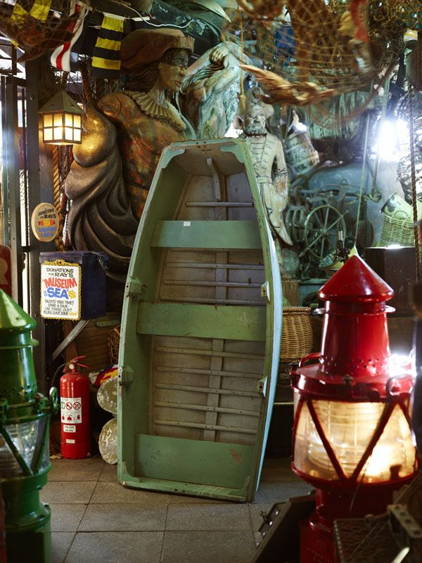 Chinderah Bay Antiques and Museum of the Sea - vintage nautical goldmine. Photo - Toby Scott.