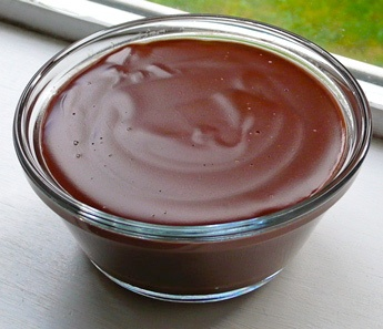 Schokoladen-Pudding milchfrei & fructosefree / chocolate pudding with rice milk - dairy free & sugar free