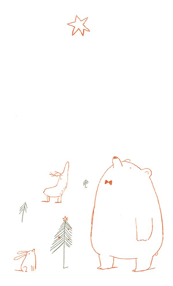Cute naive illustration by German designer Ina Hattenhauer