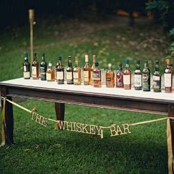 Whiskey Bar - letters
