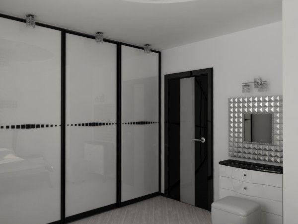 Квартира в черно белом