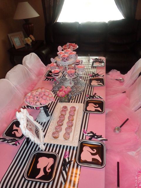 "Photo 1 of 30: Barbie Glam / Birthday ""Layla's 5th Paris Barbie Party"" 