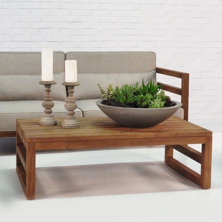 Add Flair To Your Teak Outdoor Furniture Collection, Like This Manhattan  Reclaimed Teak Coffee Table Part 70