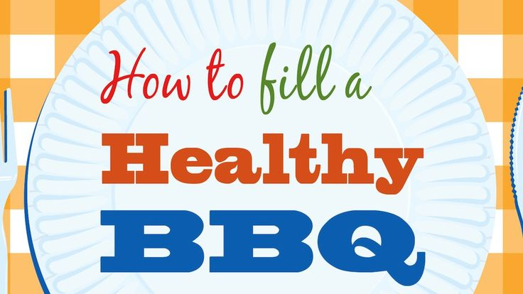 How To Make A Healthy BBQ Plate    Have a happy, healthy barbeque this Labor Day by making a healthy BBQ plate.