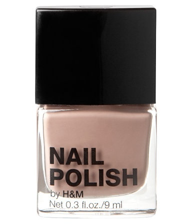 H&M Nail polish. Its very good value. Cheap and very slow to chip