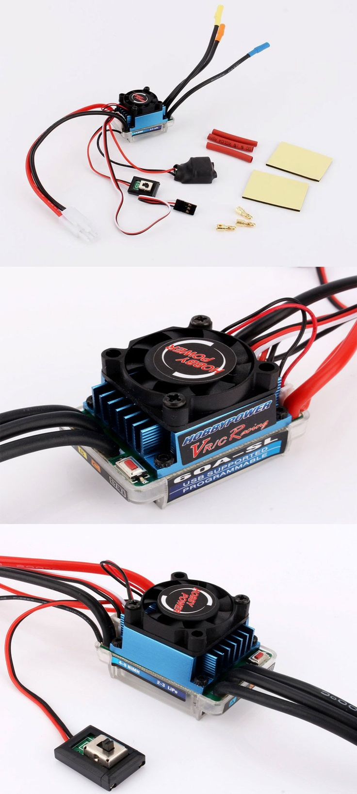 Racing Brushless Speed Controller ESC for RC Motor