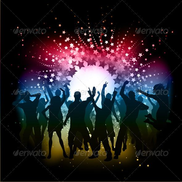 Party People Background | People dancing, Couple and Abstract