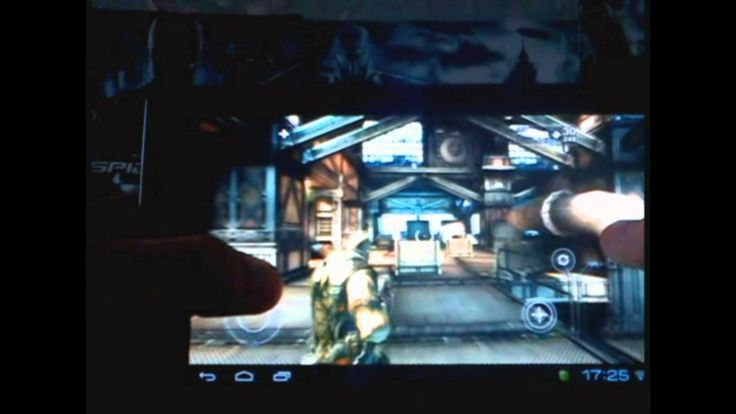 Gameplay SHADOWGUN  на Acer Iconia Tab A100 (+playlist)