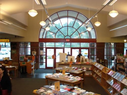 Third Place bookstore in Lake Forest Park. Used and new books, small gift items, greeting and thank you cards, journals, good alternative magazine selection, author events. Nearby food court with local restaurants.
