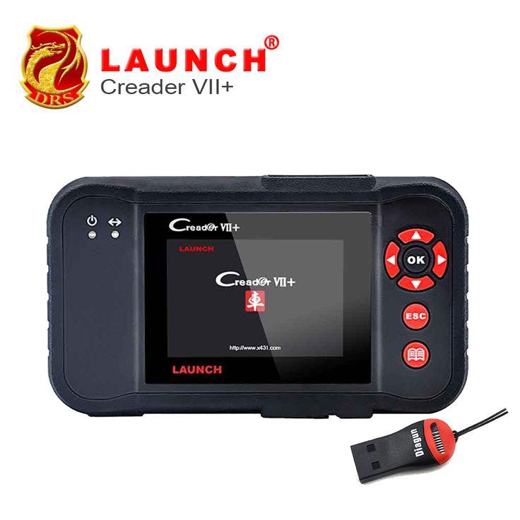 Original Auto Code Reader Launch X431 Creader VII+  Creader VII Plus Update Via Offical Website OBDII Scanner Same as CRP123 //Price: $216.00      #socialenvy