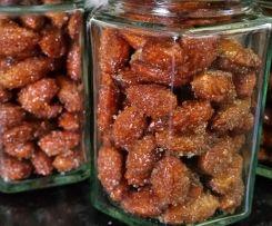 Honey Cinnamon Roasted Almonds ***