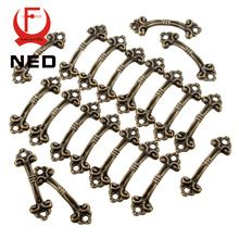 Excellent Value 10pcs Box Handle Knobs Arch Tracery Bronze Tone 4.8cm x 1.5cm Furniture Hardware(China (Mainland))