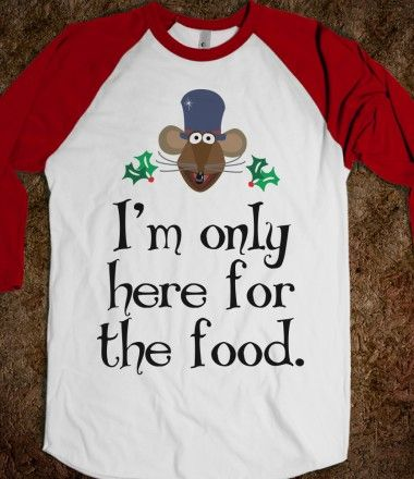 This is my shirt!  Love me some Muppet's Christmas Carol and Rizzo The Rat is my favorite!!