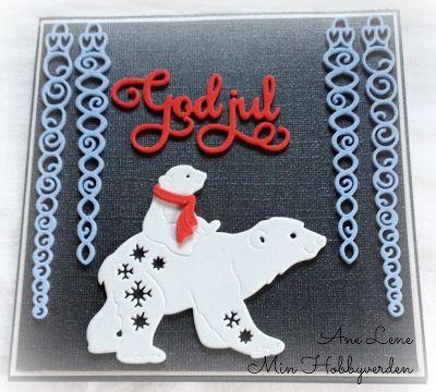 Min hobbyverden: Utradisjonelle julefarger