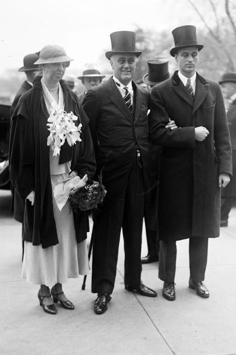 President Roosevelt and First Lady Elenor