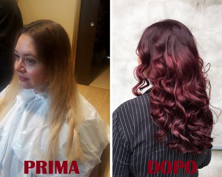 """CHERRY BOMBRE, MISTERO SVELATO! Come ci insegna Etienne Creative Hair Styler: """"Oggi le donne non vogliono più solo colore! Desiderano indossare la moda del momento, vogliono capelli idratati, nuance che durino a lungo e colori luminosi e multisfaccettati. Ecco perchè noi usiamo AloXXi, il vero Colore Personalità che rende pieno e luminoso anche il Cherry Bombre più fashion!"""""""