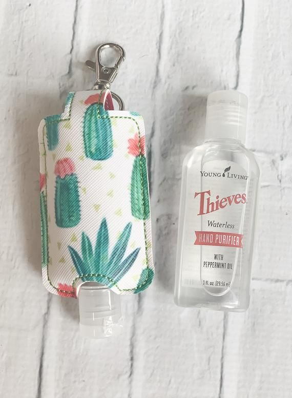 Flowering Cacti Cactus Young Living Thieves Hand Purifier