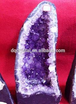 Source large natural amethyst geodes for sale DQ120303 on m.alibaba.com