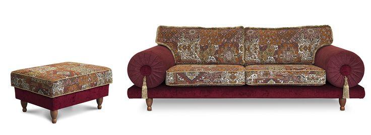 je stelt zelf je oosterse en kleurrijke casablanca samen#maatwerk#souk#dutch seating company#exclusieve stoffen#casablanca 3-zits…