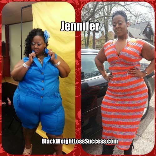 Jennifer lost 130 pounds in 7 months.