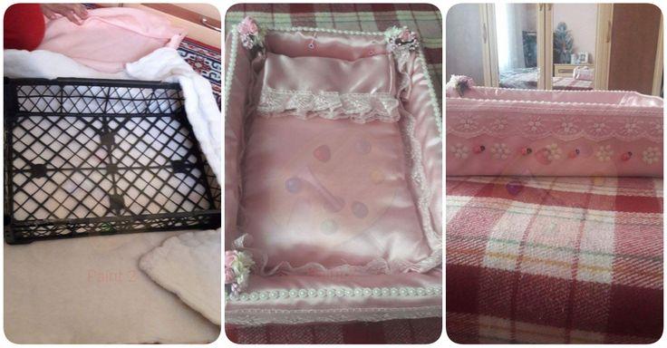 Plastik kasa ile bebek yatağı yapımı #kendinyap #diy #geridönüşüm #geridonusum