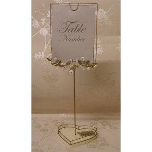 Vintage Wedding Table Number Centre Pieces