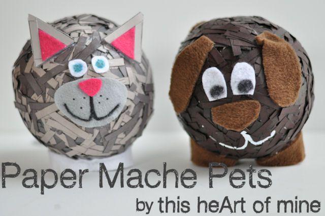 Paper Mache Pets