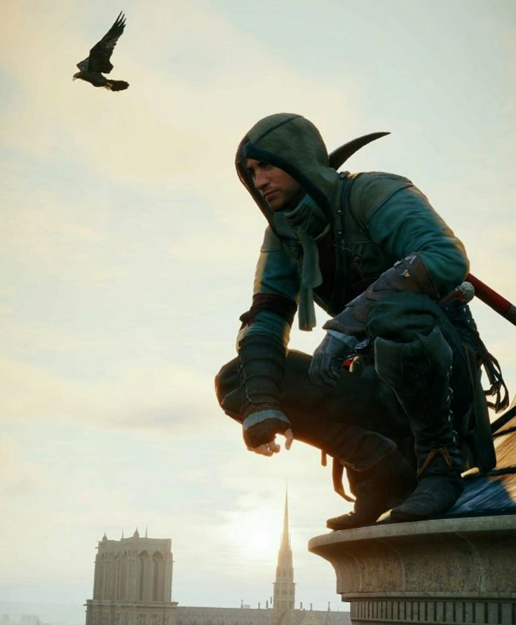 Assassin's Creed Unity - costuming and combat inspirations for To Seduce an Assassin
