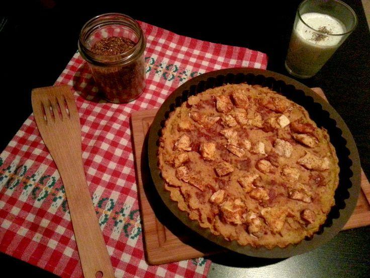 WONDER FOOD WONDER LIFE: TARTA z masą SOCZEWICOWO-POMIDOROWĄ i pieczonym ku...