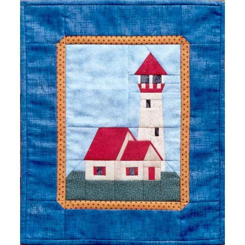 Lighthouse Quilt Pattern : 20 best images about Lighthouse Quilts on Pinterest Quilt, Lighthouses and Embroidered quilts