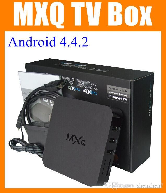 Encuentra el mejor  mxq tv box androide amlogic s805 quad core android 4.4 mxq cuadro de tv xxl sexo androide amlogic cuadro de tv en vivo s805 cuádruple núcleo ott mxq cuadro de tv oth035, a precio al por mayor del proveedor tv box de android chino - shenzhen7 en es.dhgate.com.