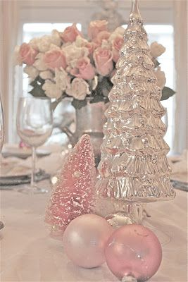 Amazing Christmas In Pink And Silver