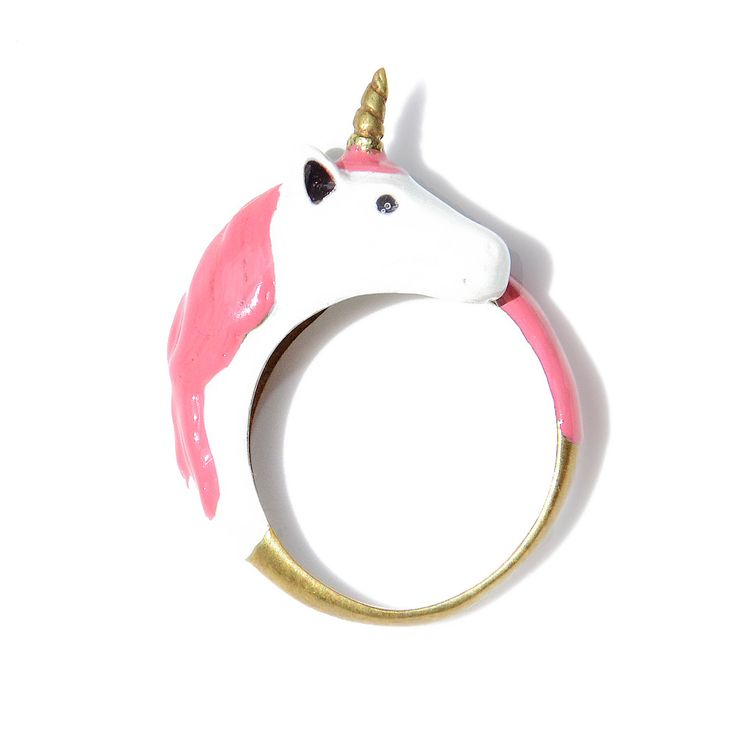 Unicorn ring! I don't think I've ever wanted anything more than this ring! I NEED it.