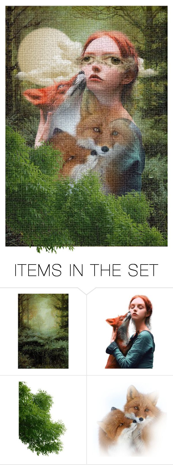 """a really weird, vivid dream..."" by gabrielleleroy ❤ liked on Polyvore featuring art and artset"