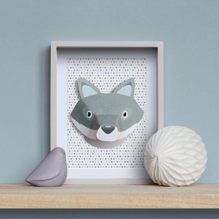 Plus de 1000 id es propos de crea enfants kids sur pinterest cabane - Trophee animaux design ...