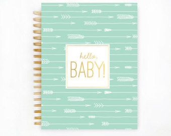 Baby Book Baby Memory Book Personalized Baby by TheSweetRhino