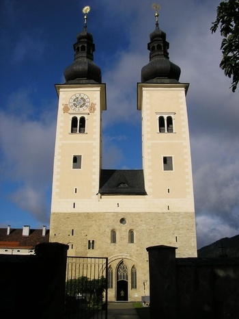 Cathedral and shrine of St Hemma, Gurk, Austria