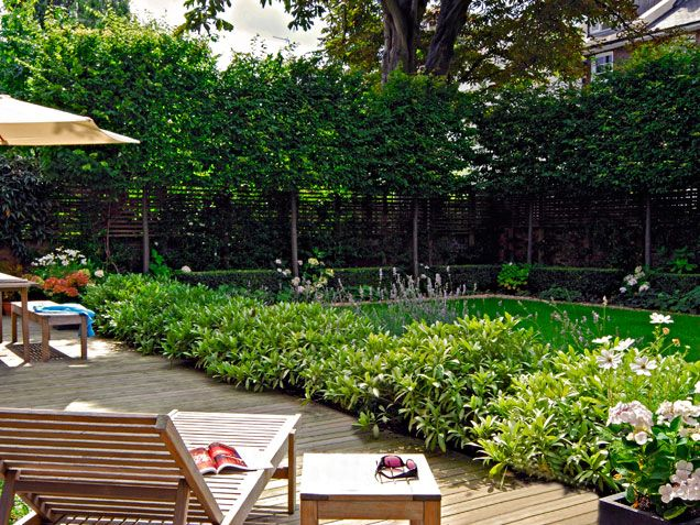 106 best images about garden ideas on pinterest - Creating privacy in backyard ...