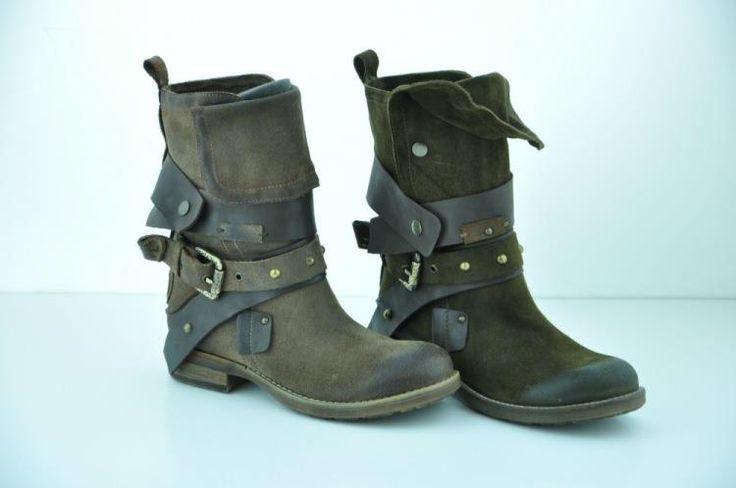 Казачки обувь со шнуровкой