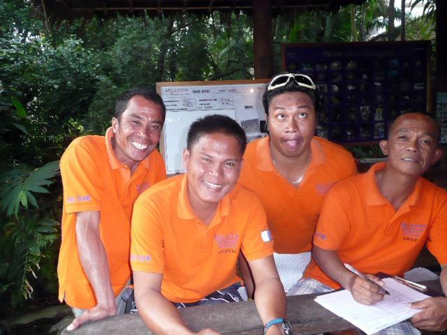 Dive guides  Dumaguete Philippines