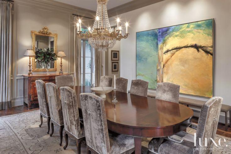 Traditional Elegant Dining Room