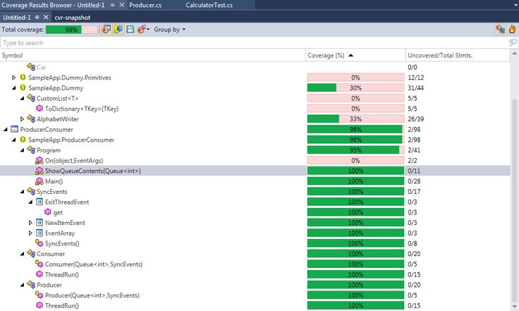 Code coverage tool for .NET :: dotCover